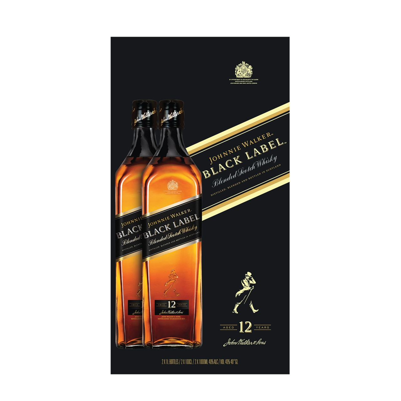 JW Black Label Twin Pack 2x1L