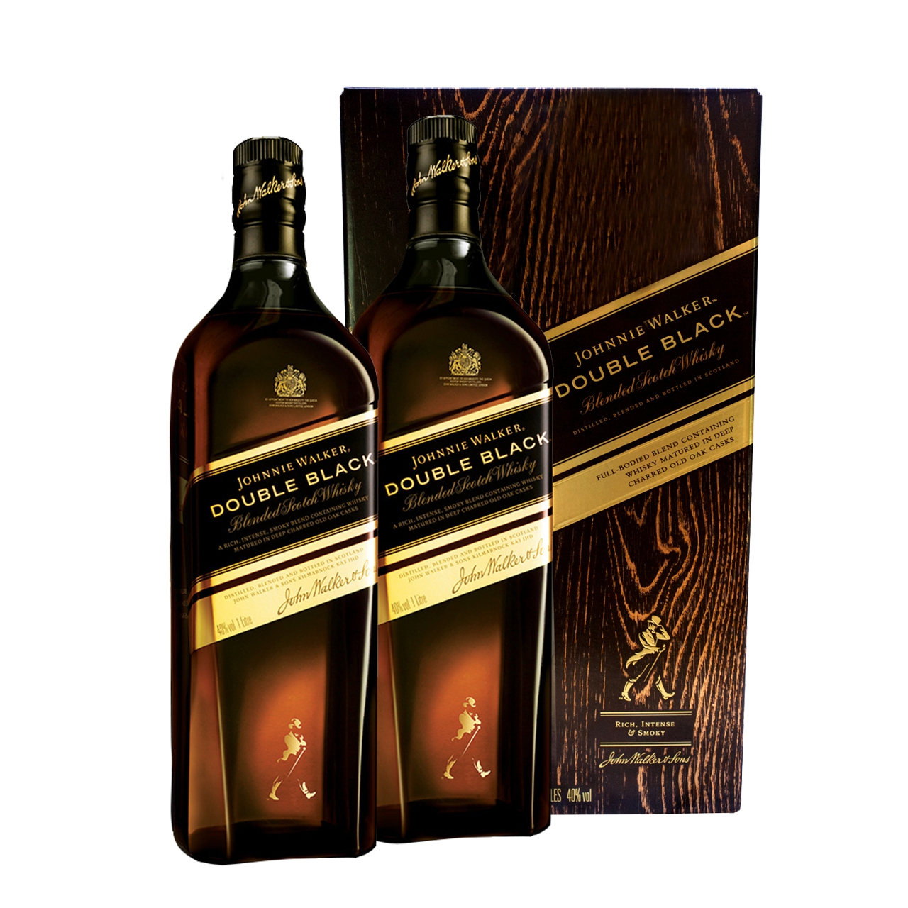 Johnnie Walker Double Black Twin Pack 2x100cl