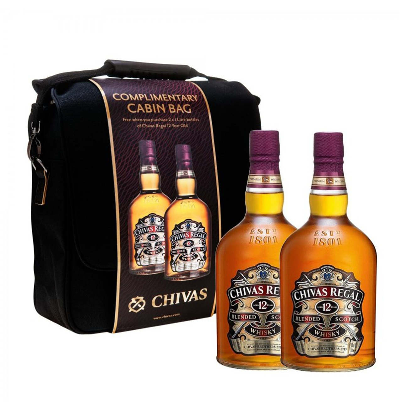 Chivas Regal 12 Years Cabin Bag