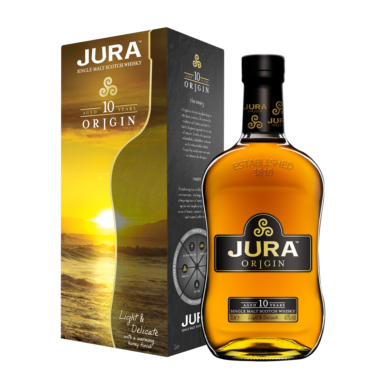 Isle Of Jura Origin 10 Years Old 1L