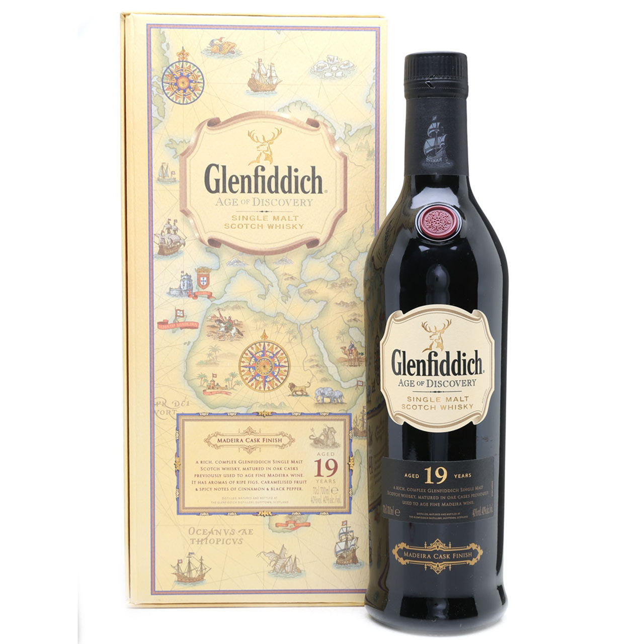 Glenfiddich Age Of Discovery 19 YO 70cl