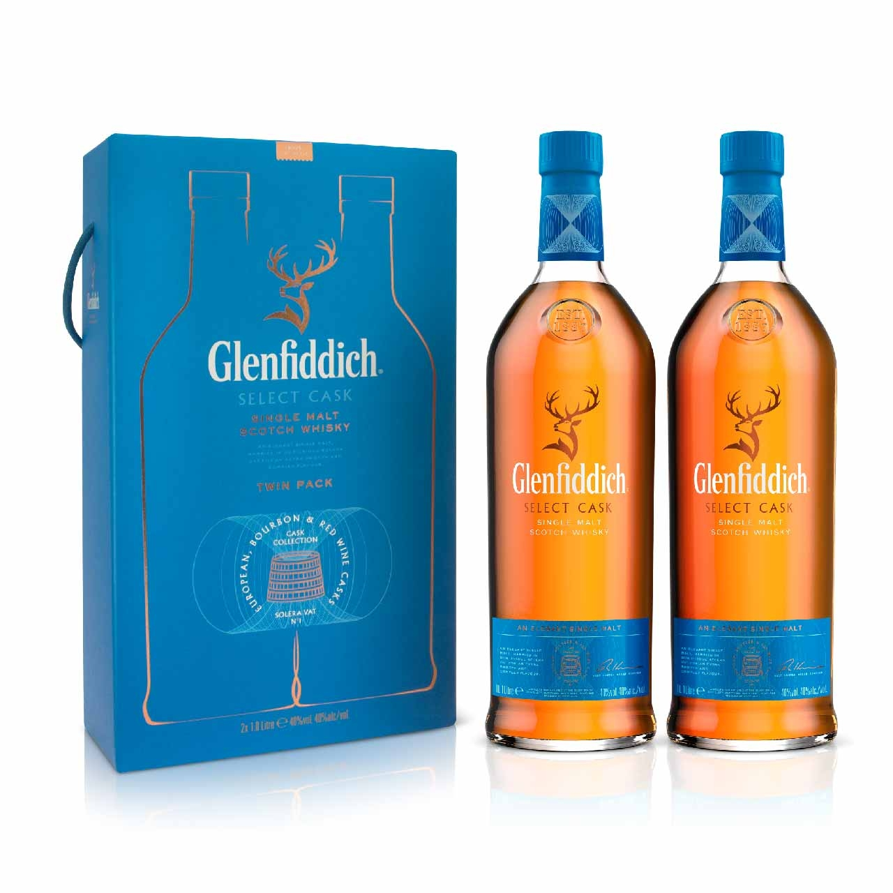 Glenffidich Select Cask 2x100cl
