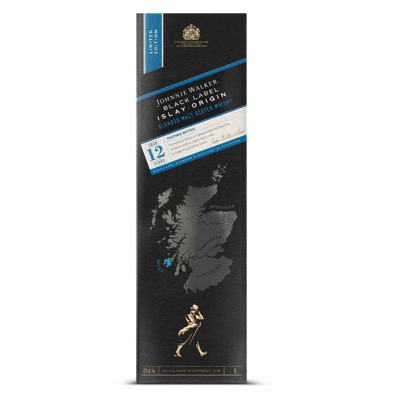 Johnnie Walker Black Label Islay Origin 100cl