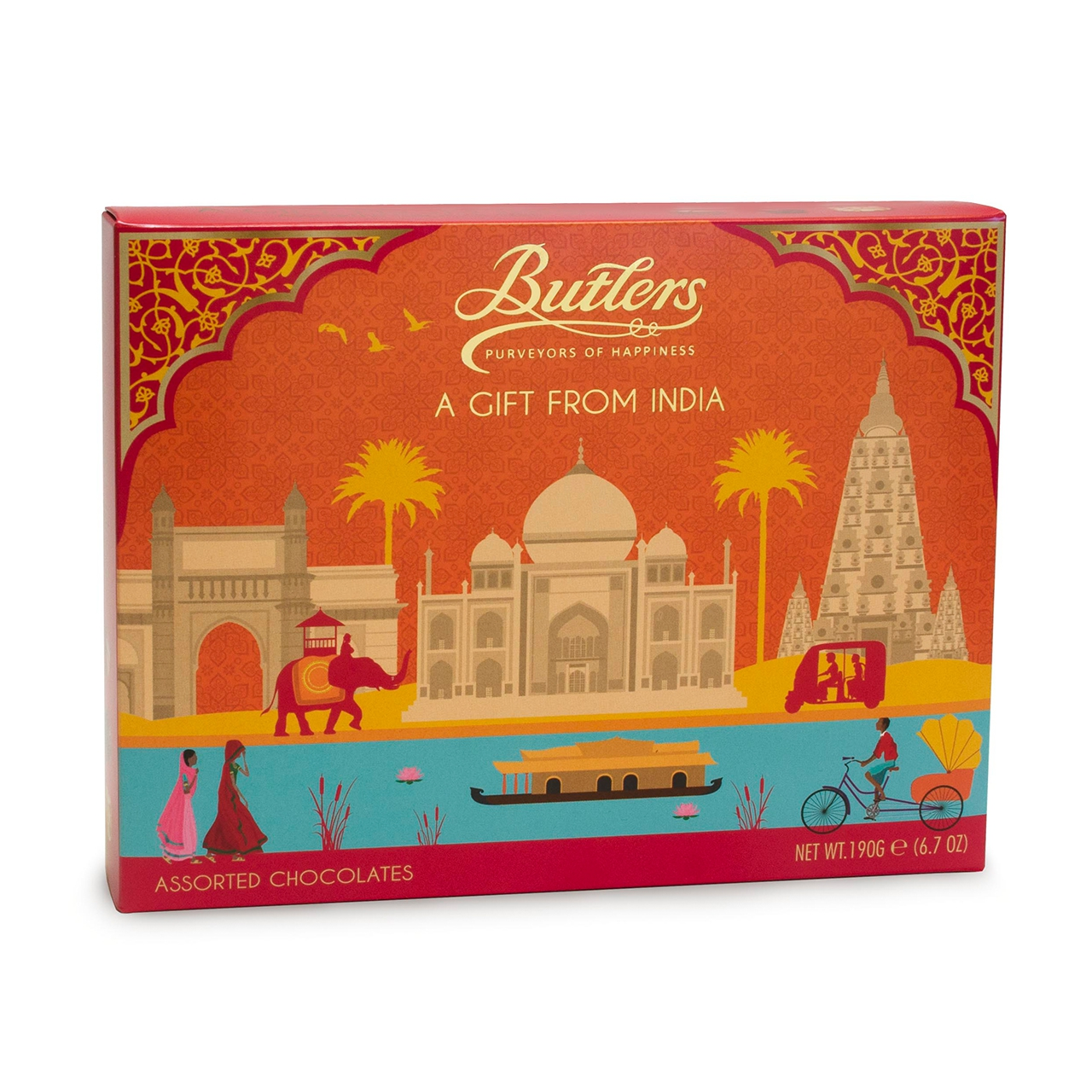 Butlers India Gift Selection 190 grams