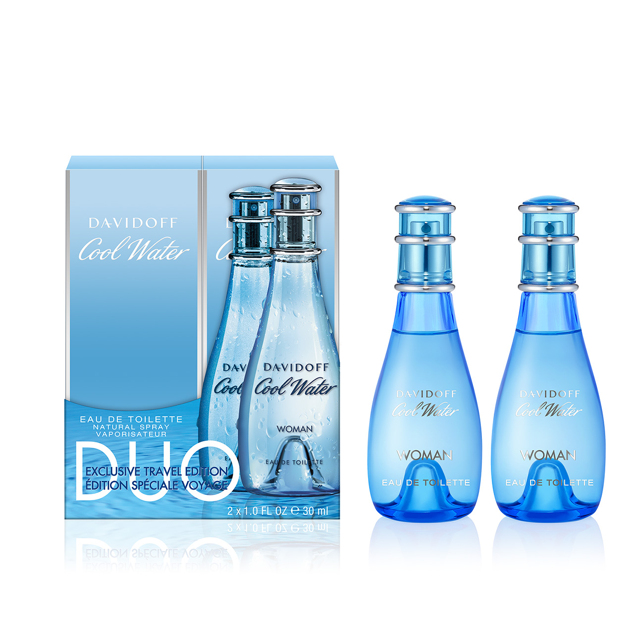 Davidoff Cool Water WomenEDT Duo Set 2x30ml