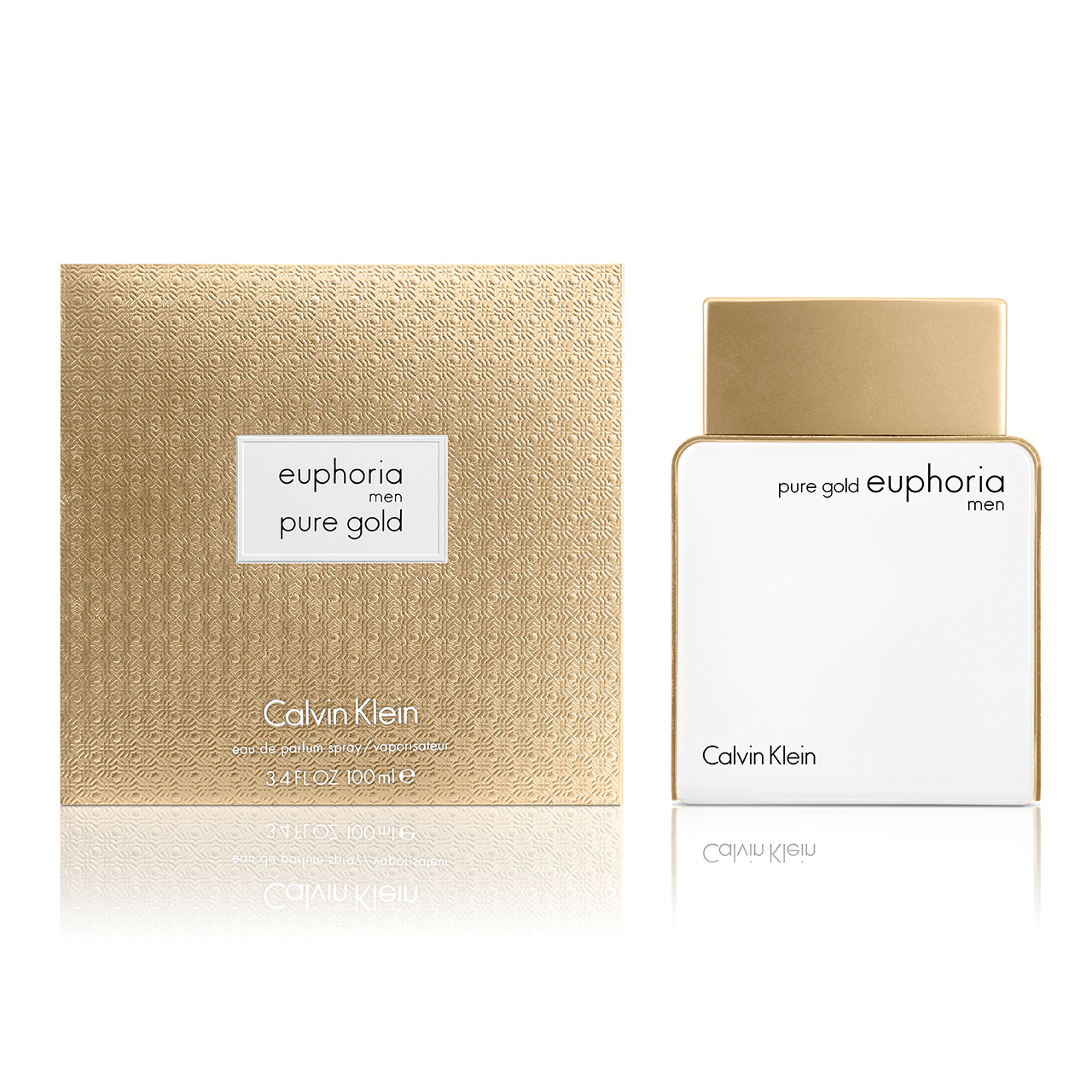 Calvin Klein CK Deep Euphoria Pure Gold Men 100ml