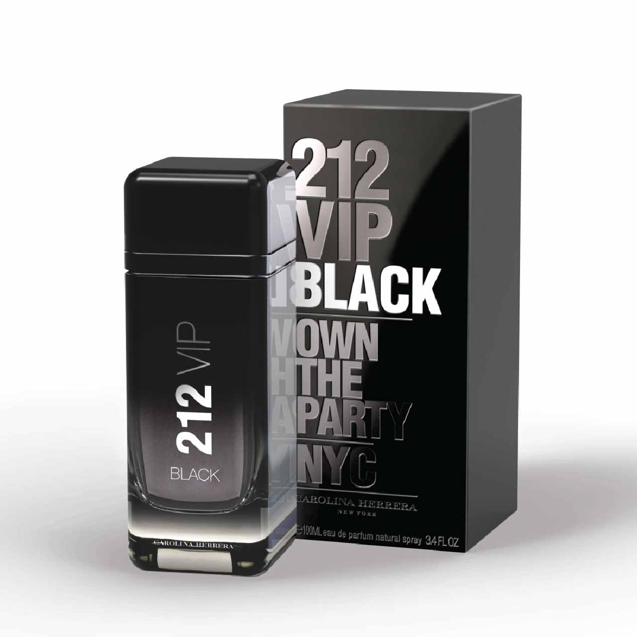 Carolina Herrera 212 Vip Black EDP 100ml Natural Spray