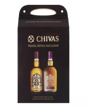 Chivas Regal 12 Years Twin Pack - Chivas 12 YO 1L and Chivas Brothers' Blend 1L