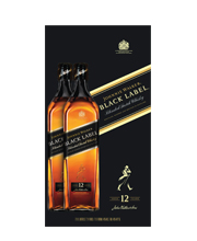 Johnnie Walker Black Label Twin Pack 2x100cl