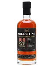 Millstone 100 Percent  Rye whisky 70cl