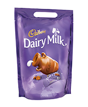 Cadbury Dairy Milk Bag 400 grams