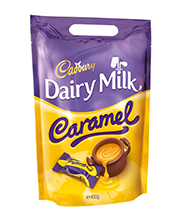 Cadbury Caramel Chunk Bag 400 grams