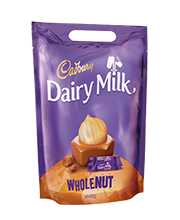 Cadbury Whole Nut Bag 400 grams