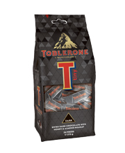 Toblerone Tiny Dark Bag 272 grams