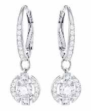 Swarovski Sparkling Dance Round Pierced Earrings 5294868